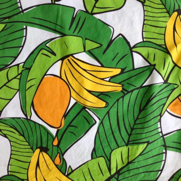 Bananas For Mangoes original fabric