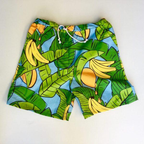 Bananas for Mangoes Blue Men's Shorts