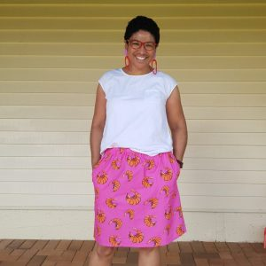 Prawny Prawn Ladies Skirt