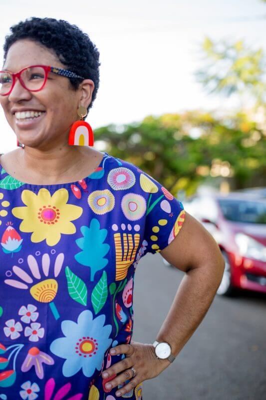 Sunshine Garden Ladies Regular Dress